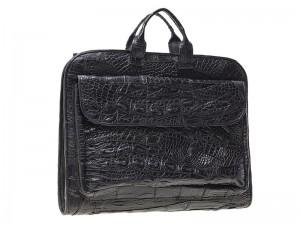 Мужская сумка из крокодиловой кожи