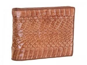 Мужской кошелек из кожи кобры