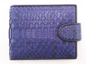 Мужской кошелек из питоновой кожи