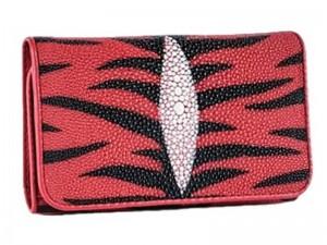 Оригинальный женский кошелек из ската