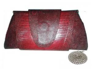 Оригинальный клатч из кожи варана