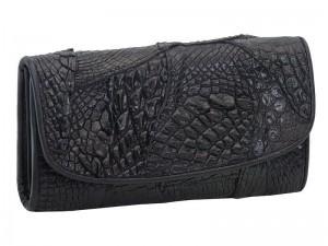 Женский кошелек из крокодиловой кожи