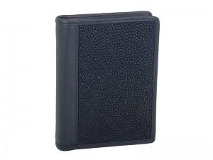 Мужское портмоне с монетницей из ската