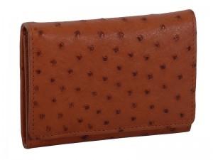 Женский кошелек из страусовой кожи