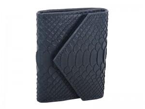 Стильный кошелек из кожи питона