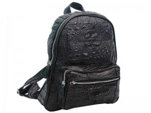 Стильный рюкзак из крокодиловой кожи