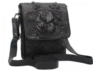 Мужская сумочка из крокодильей кожи