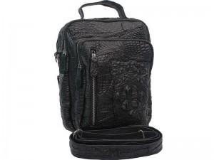 Мужская сумка из кожи крокодила