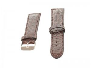 Часовой ремешок из кожи крокодила 24 мм.