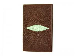 Обложка на паспорт из ската с кармашками