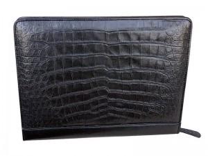 Кожаная папка для документов из крокодила