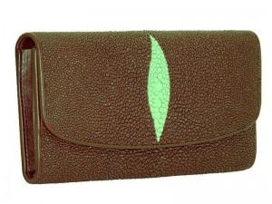 Оригинальное портмоне из кожи морского ската