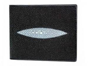 Мужской кошелек из ската с монетницей