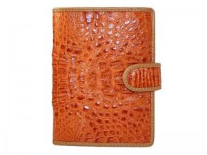 Стильный бумажник из крокодильей кожи