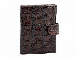 Бумажник мужской из крокодила