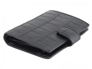 Мужской крокодиловый бумажник из брюха