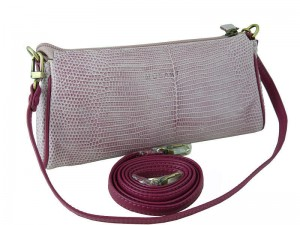 Женская сумочка-клатч из кожи варана