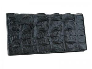 Мужское портмоне из кожи со спины крокодила